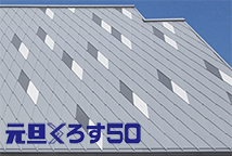 元旦くろす50(金属屋根・外壁)