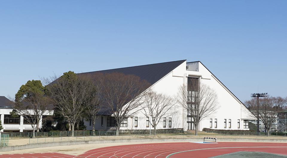 中台運動公園体育館屋根
