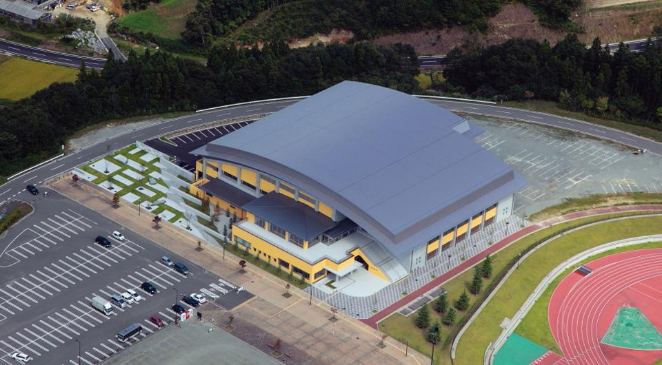 田村市総合体育館