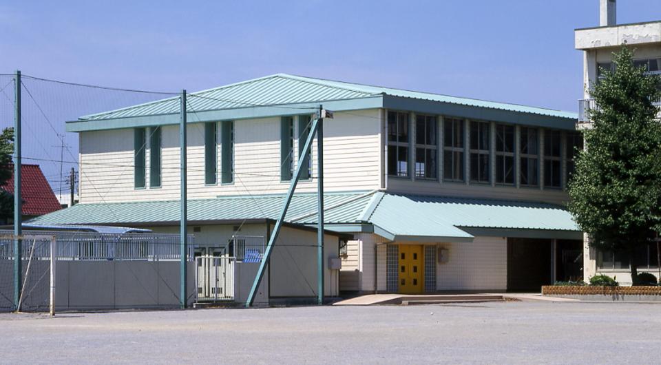 浦安市立北部小学校体育館