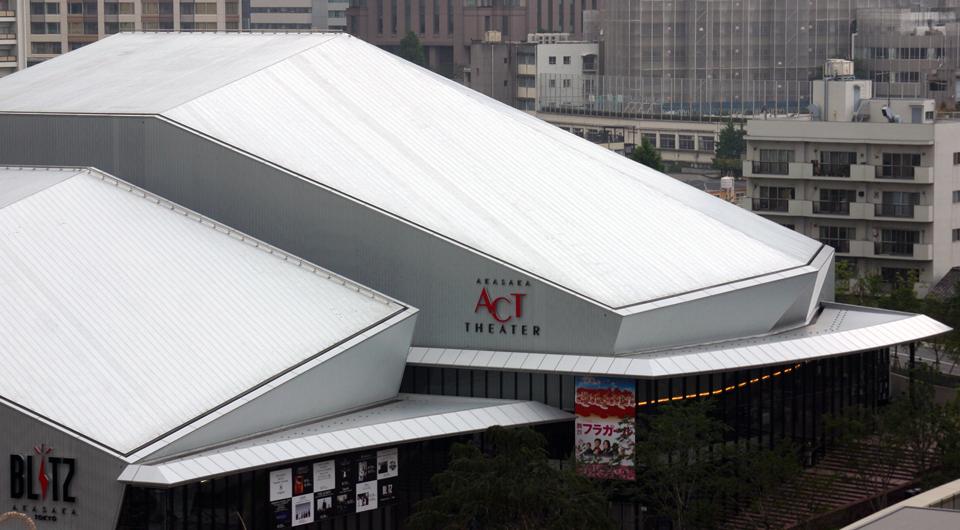 TBS赤坂サカス(赤坂BLITZ・赤坂ACTシアター)