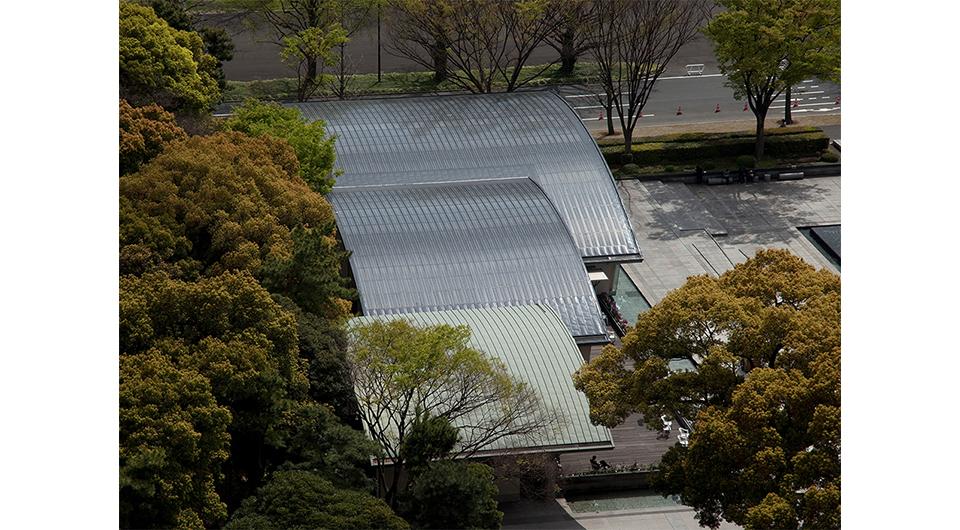 皇居外苑 和田倉噴水公園休憩所