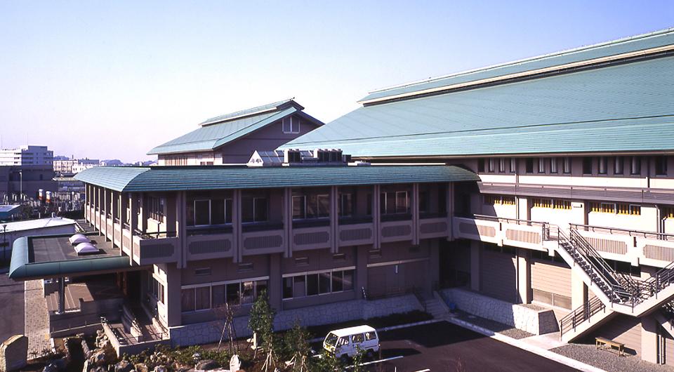 鎌倉市山崎下水道終末処理場・武道館