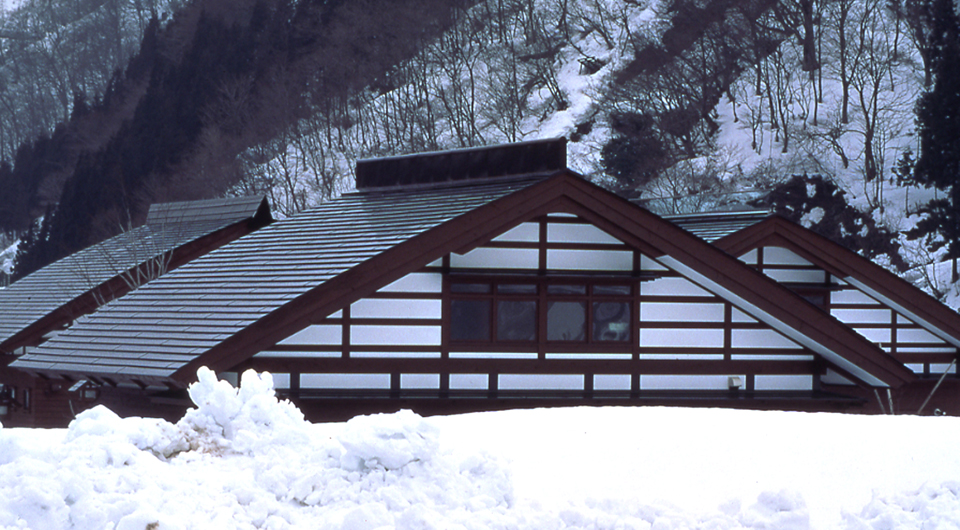 上平村立楽雪住宅