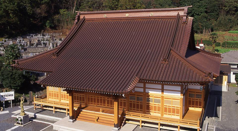 曹洞宗少林寺本堂