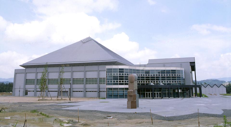 東広島運動公園体育館