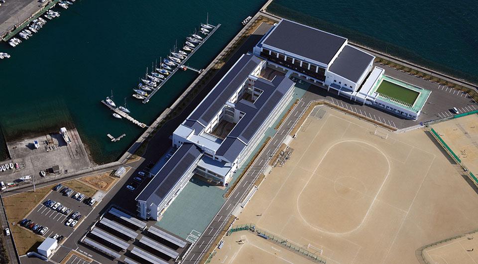 本渡中学校