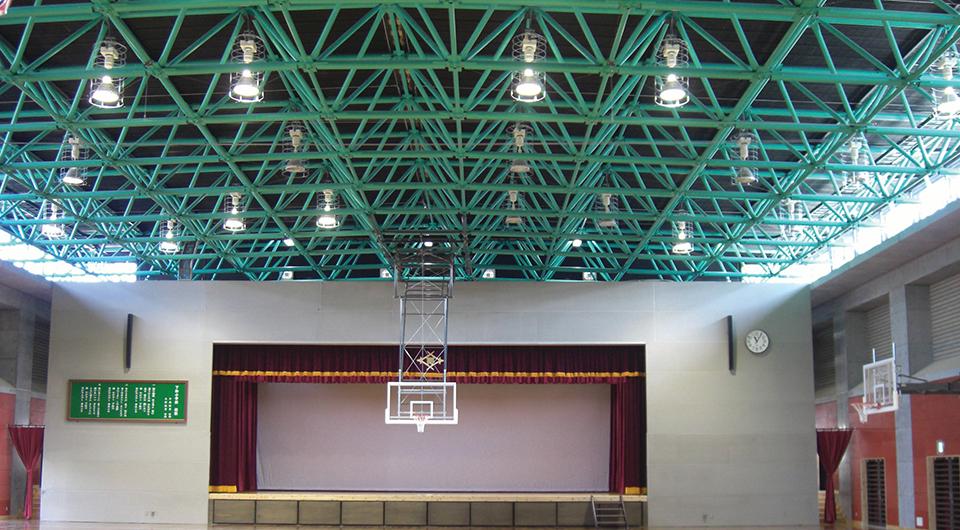 下松小学校屋内運動場