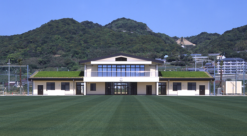 佐野運動公園クラブハウス