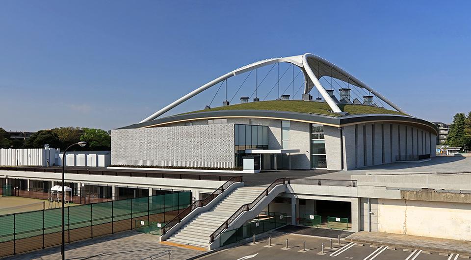 駒沢オリンピック公園総合運動場 屋内球技場・第一球技場