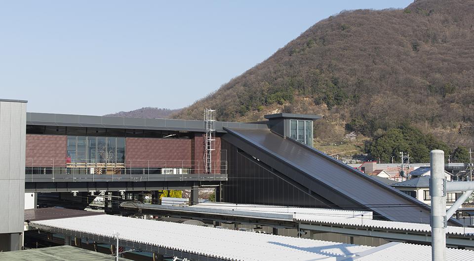JR石和温泉駅