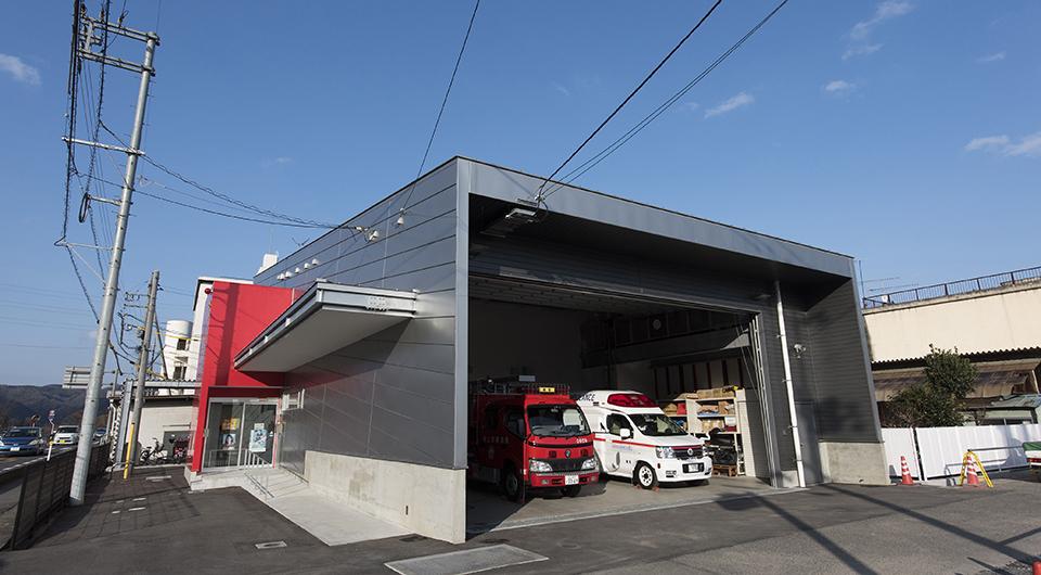 岡山市北消防署建部出張所