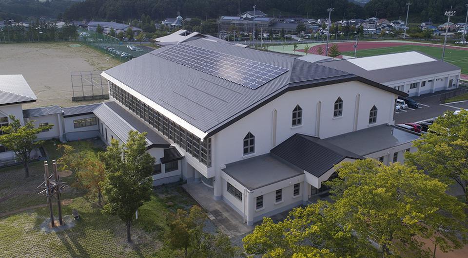 飯舘村立飯館中学校・小学校 飯舘村立までいの里のこども園