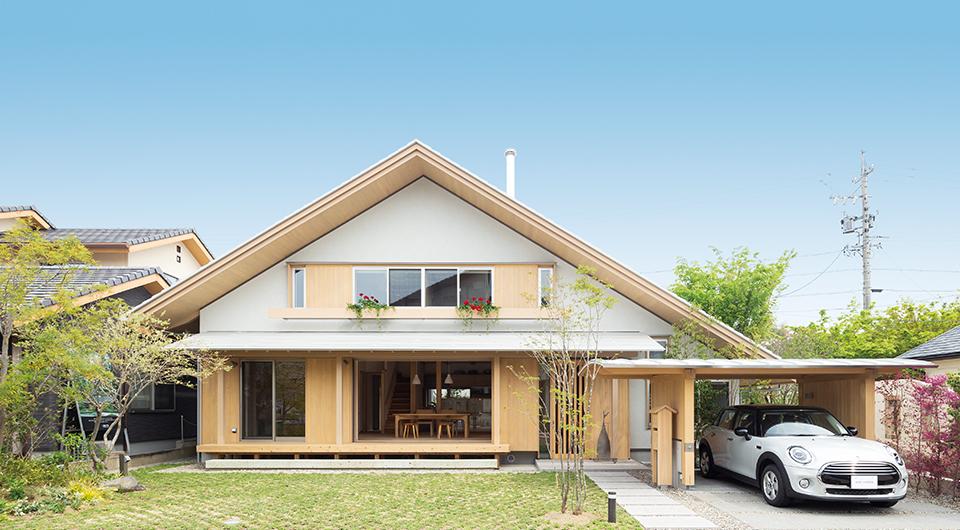 春日井の家 モデルハウス