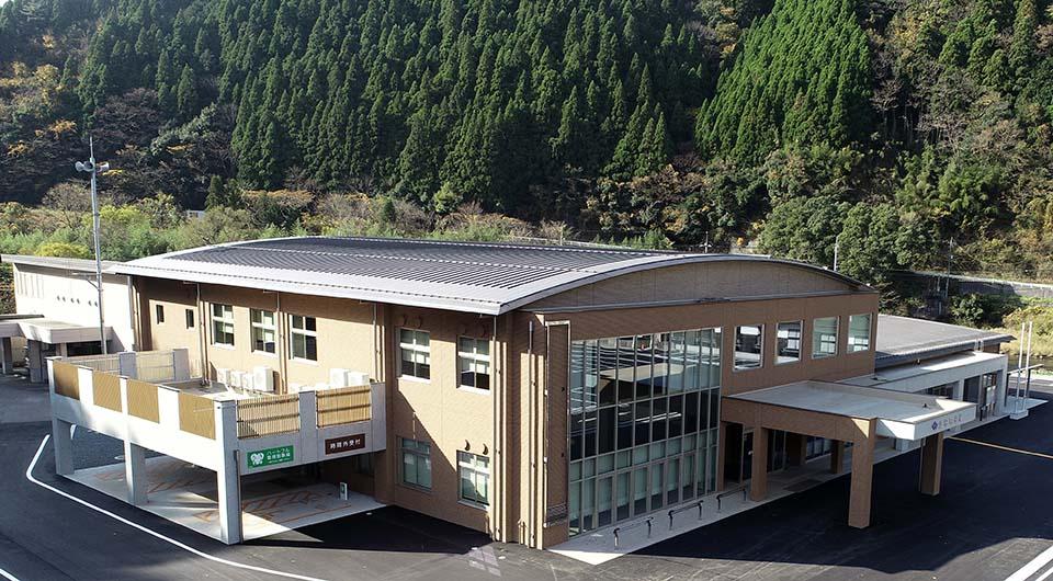 江府町役場新庁舎